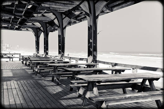 Eric Benjamin - Picnic Tables at the Beach