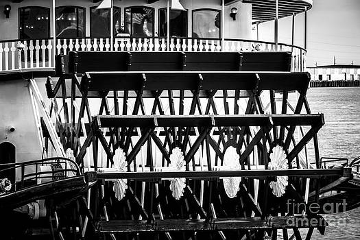 Paul Velgos - Picture of Natchez Steamboat Paddle Wheel in New Orleans
