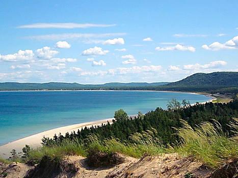 Picture perfect lake Michigan by Danielle Allard
