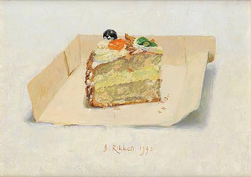 Piece of pastry by Ben Rikken