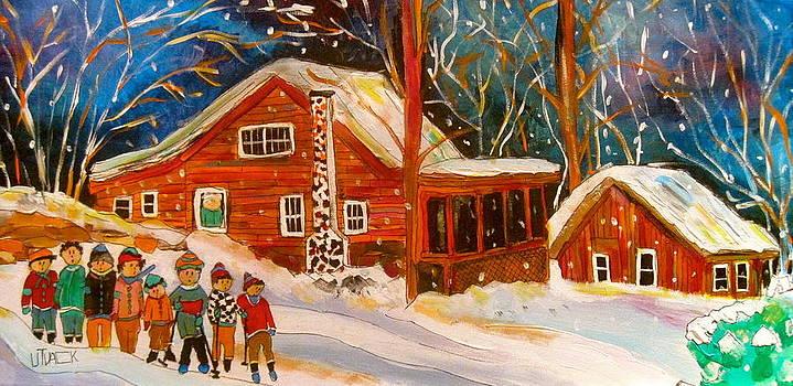Piedmont Family Winter by Michael Litvack