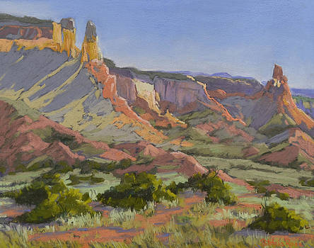 Piedra Lumbre Morning by Patricia Rose Ford