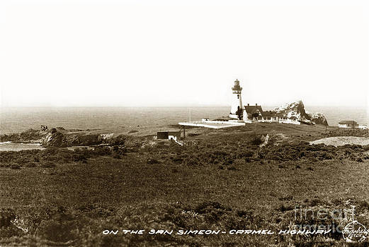 California Views Mr Pat Hathaway Archives - Piedras Blancas Light Station San Simeon Carmel Highway Calif. circa 1930