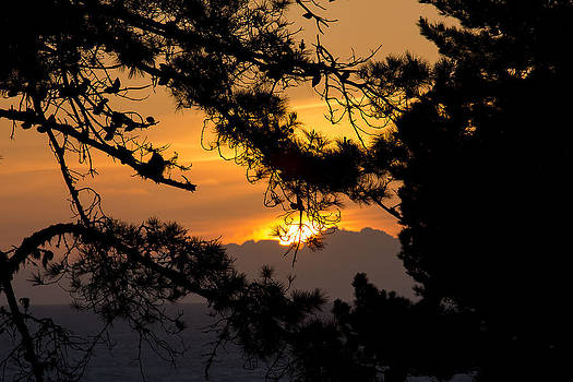 Piedras Blancas sunset by Jose M Beltran