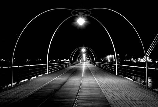 Pier at Southport by Wayne Molyneux