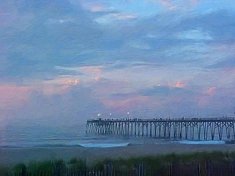 Pier Dawn by Melody McBride