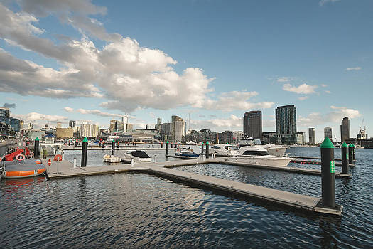 Pier in Docklands by View Factor Images