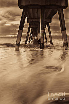 Pier Into Dawn by Jennifer Marie Nature Exposed