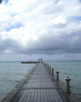 Pier Out to Sea by Jack Thomas