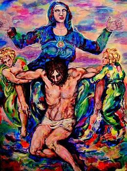 Pieta 3 by Barbara Leavitt