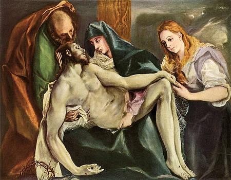 El Greco - Pieta