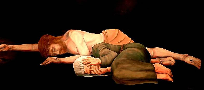 Pieta - Mother and Child by Kevin Davidson