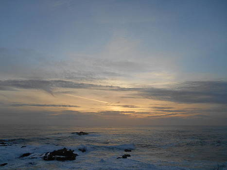 Pigeon Point Sunset by Brett Chambers