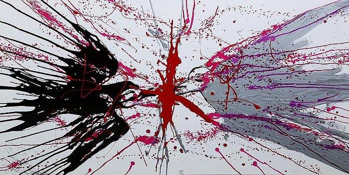 Pigeons n Crows by Syma Art