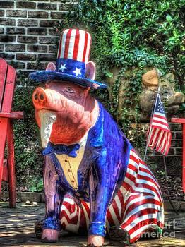 Jaclyn Hughes Fine Art - Piggy USA