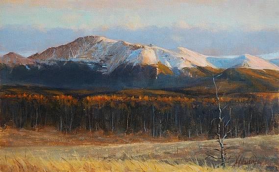 Pikes Peak by Greg Clibon