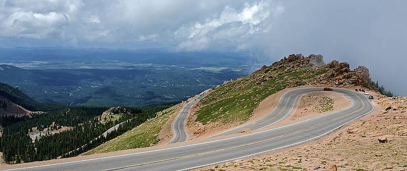 Pikes Peak Highway by Greg Reed