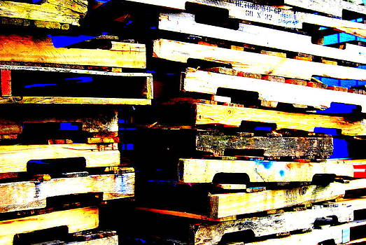 Pile of Pallets by Mamie Gunning