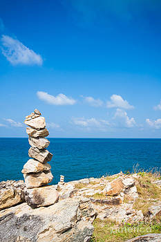Fototrav Print - Pile of stones on Koh Samet