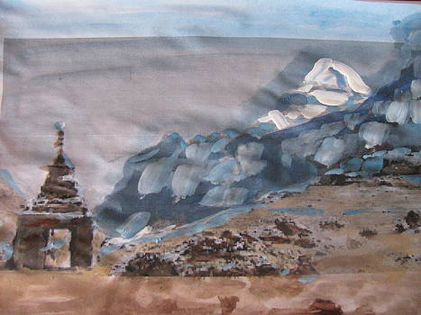 Pilgrim to Mount Kailash by Vikram Singh