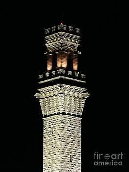 Christine Stack - Pilgrim Tower at Night