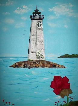 Pillar of Light by Edwina Sage Washington