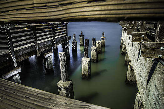 Pillars Over Pier 39 Waters... by Israel Marino