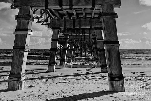 Deborah Benoit - Pillars Sand and Waves