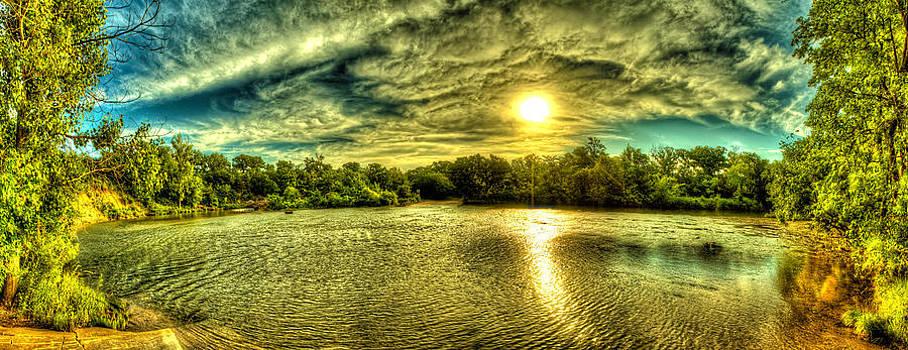Pillsbury Creek Sunrise by  Caleb McGinn