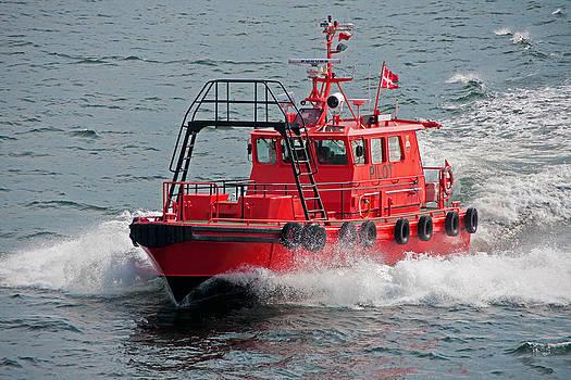 Dennis Cox - Pilot boat