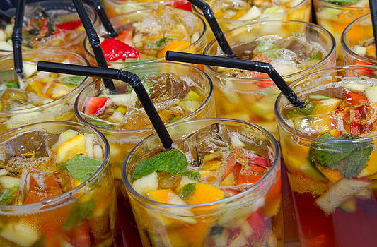 Pimms Drinks by Chris  Clark