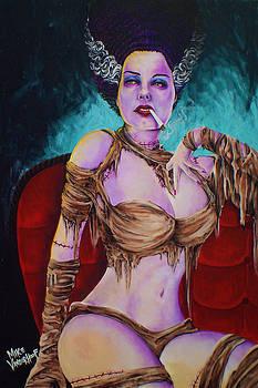 Pin-Up Bride of Frankenstein by Mike Vanderhoof