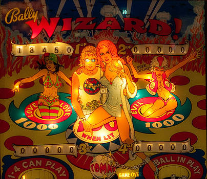 Pinball Wizard Tommy Vintage by Terry DeLuco