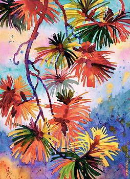 Pine Needle Fireworks by Dianne Bersea