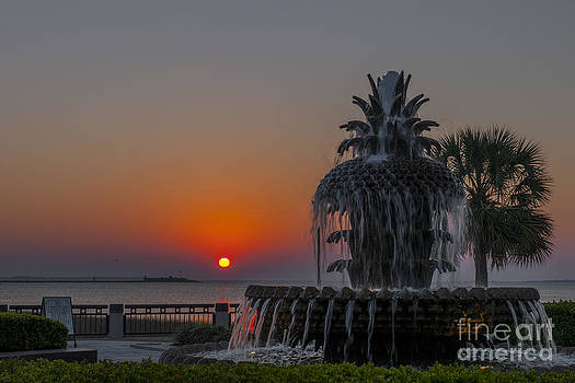 Dale Powell - Charleston Harbor Sunrise