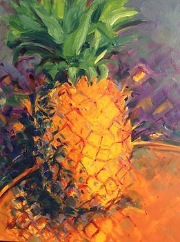 Pineapple Explosion by Karen Carmean