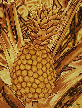 Pineapple in Rust by DK Nagano