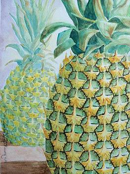 Pineapples by Amber Whiting Bradley