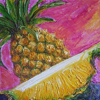 Pineapples on Pink by Paris Wyatt Llanso