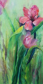 Pink Amaryllis by Elaine Bailey