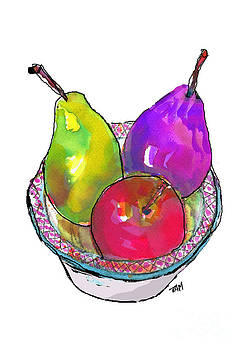 Pink Apple by Tracy-Ann Marrison