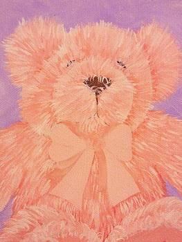 Pink Bear by Stefanie Beauregard
