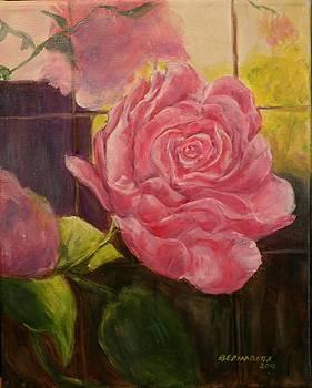 Pink Beauty by Bernadette Amedee