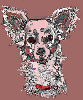 Pink Chihuahua by Joyce Goldin