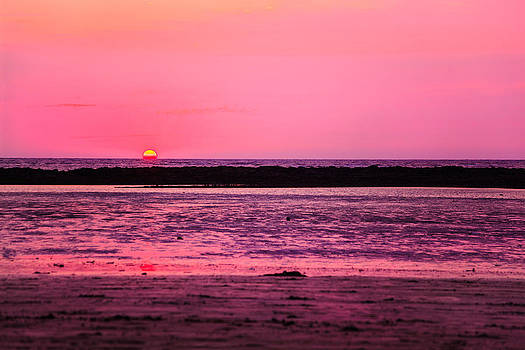 Pink dawn at Manori Bel by Kantilal Patel