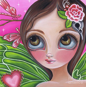 Pink Dragonflies by Jaz Higgins