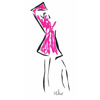 Mark Wilcox - Pink Dress 1