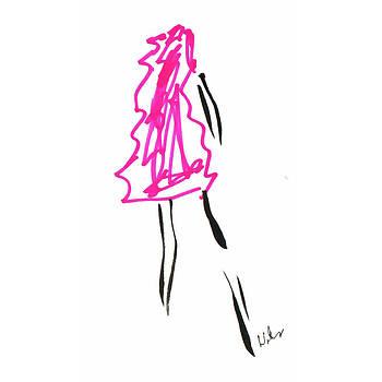 Mark Wilcox - Pink Dress 2