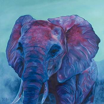 Pink Elephant by Pamela Bell