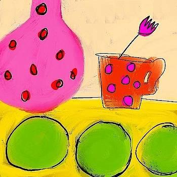 Pink Flower by Ashley Schutte